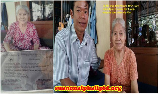 Bà Lê Thị Vựa hiện ở Mỹ Phước , Tp Long Xuyên