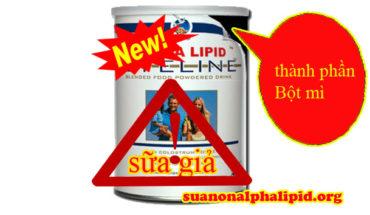 cảnh giác sữa non alpha lipid giả giá rẽ