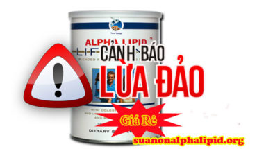 Sữa non Alpha lipid lừa đảo giá rẻ