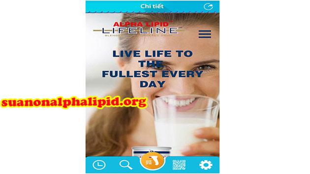 Mã QR đúng sản phẩm alpha lipid lifeline