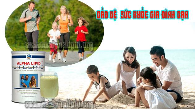Lựa chọn sữa non Alpha Lipid chính hãng để bảo vệ cho sức khỏe của cả gia đình