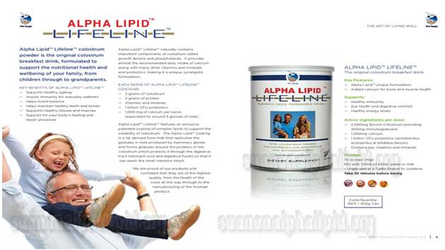 Alpha Lipid sở hữu công nghệ sản xuất độc quyền từ New Image