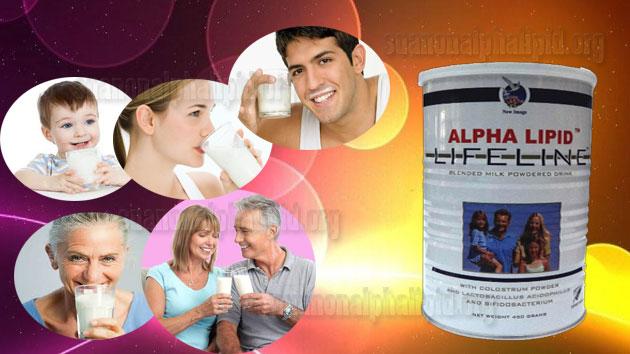 Sữa non alpha lipid phù hợp cho mọi đối tượng