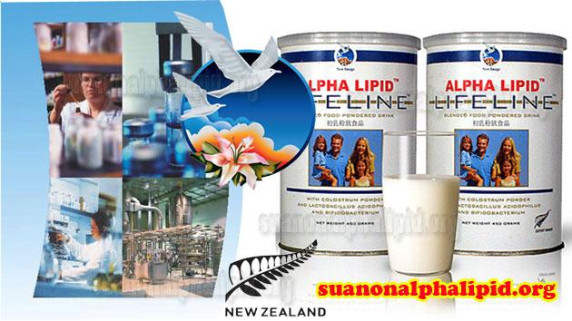 Sữa non alpha lipid có nhiều tác dụng tốt cho cơ thể