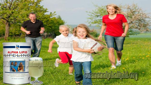 Uống sữa non Alpha Lipid mỗi ngày cho một cơ thể với sức khỏe vàng