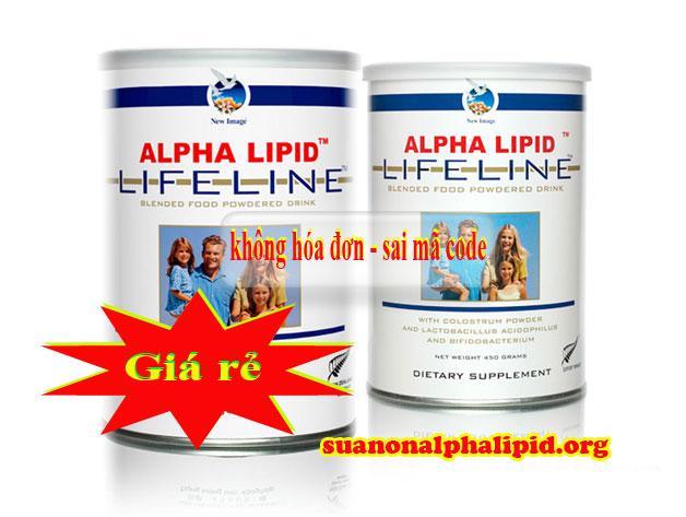 Không nên mua các sản phẩm sữa non Alpha Lipid không có hóa đơn vì có thể dẫn đến những hậu quả cho sức khỏe