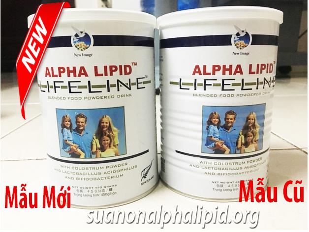 mẫu mới sữa non alpha lipid